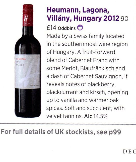 LA 12 Decanter March 2016